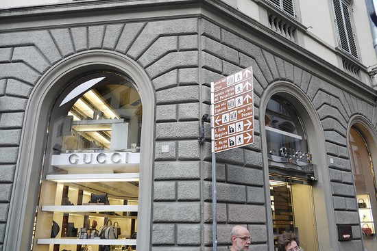 Photo Negozio Gucci a Firenze in Florence - Pictures and Images of Florence