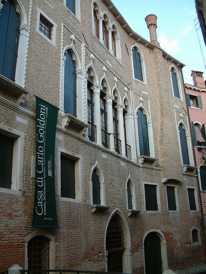 Photo venezia casa di carlo goldoni in Venice - Pictures and Images of Venice - 413x550  - Author: Editorial Staff, photo 1 of 757