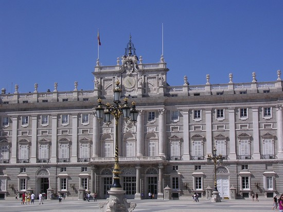Photo palazzo reale di madrid madrid in Madrid - Pictures and Images of Madrid