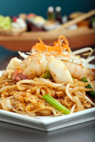 Photo Pad Thai, specialità della Thailandia in Bangkok - Pictures and Images of Bangkok