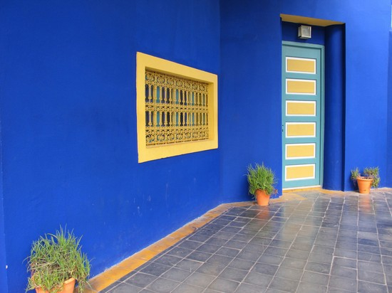 Photo marrakech jardin majorelle in Marrakech - Pictures and Images of Marrakech - 550x412  - Author: Editorial Staff, photo 7 of 149