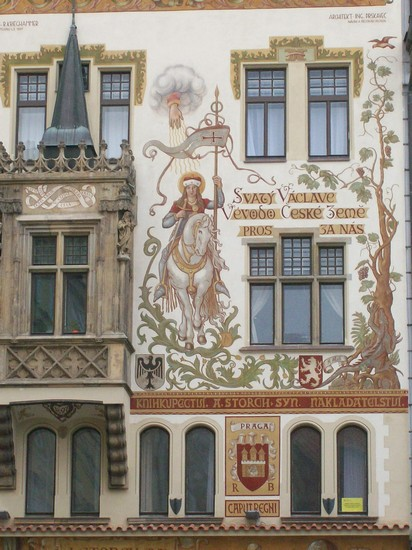 Photo Decorazioni architettoniche in Prague - Pictures and Images of Prague