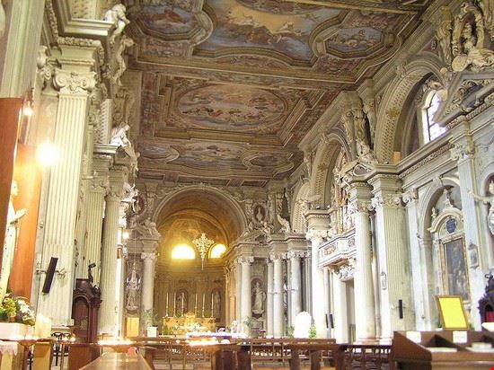 Interno della chiesa di Sant'Agostino a Modena