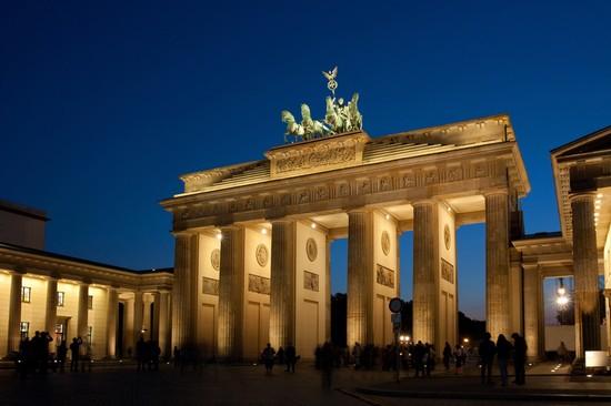 Photo porta di brandeburgo berlino photos de berlin et - Berlino porta di magdeburgo ...