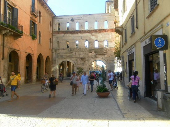Photo porta in Verona - Pictures and Images of Verona