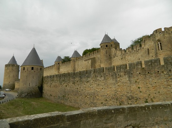 Photo Carcassonne:Il Castello in Carcassonne - Pictures and Images of Carcassonne