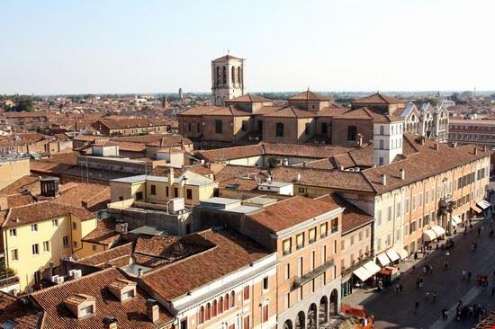 Vista su Ferrara