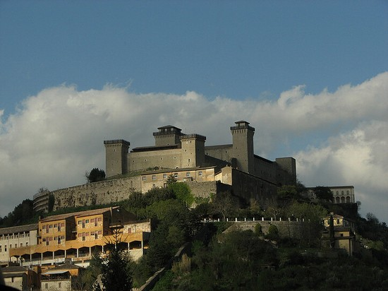 Photo Rocca di Spoleto in Perugia - Pictures and Images of Perugia