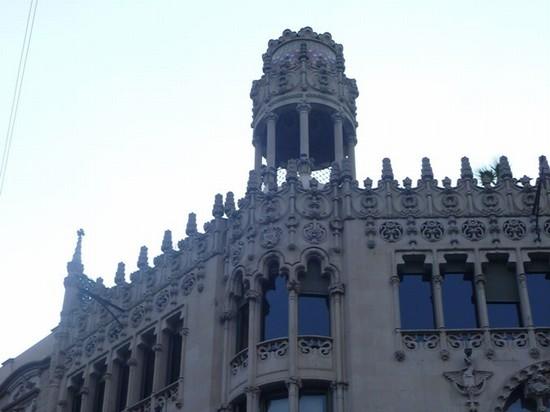Foto dettaglio architettonico a barcellona 550x412 for Ostelli a barcellona consigli