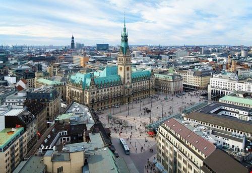 Panorama di Amburgo