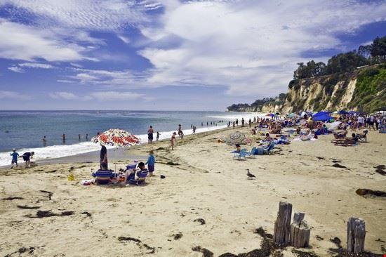 In spiaggia a Malibu