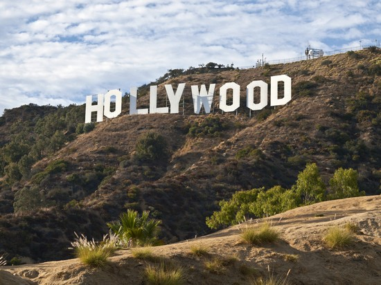 Photo los angeles hollywood sign in Los Angeles - Pictures and Images of Los Angeles - 550x412  - Author: Editorial Staff, photo 1 of 300