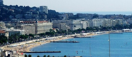 Photo cannes vista sulla croisette cannes in Cannes - Pictures and Images of Cannes - 550x239  - Author: Editorial Staff, photo 3 of 78