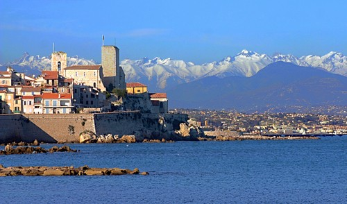 Photo cannes panorama di antibes nei pressi di cannes in - Point p antibes ...