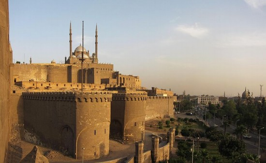 Photo il cairo cittadella di saladino il cairo in Cairo - Pictures and Images of Cairo - 550x336  - Author: Editorial Staff, photo 1 of 136