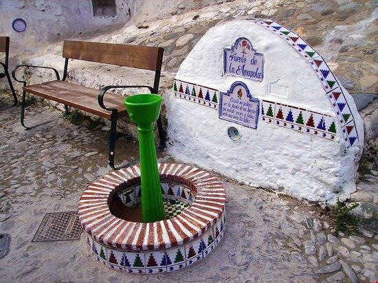 Fuente de la Anapola, Sacromonte