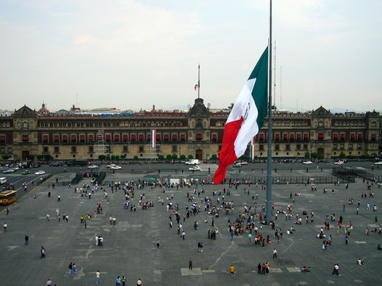 Foto El Zocalo, Plaza de la Constitucion a Citt del Messico