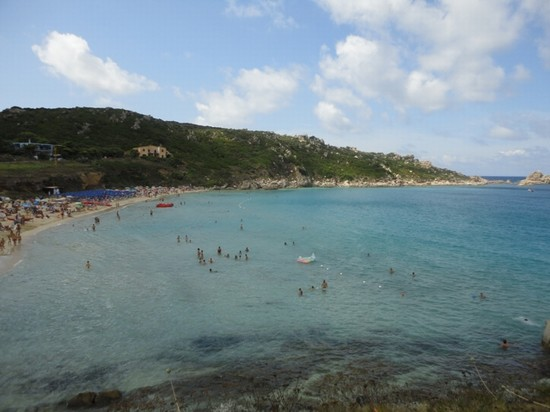 Photo mare della spiaggia di rena bianca santa teresa di gallura in Santa Teresa di Gallura - Pictures and Images of Santa Teresa di Gallura