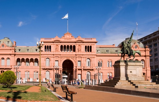 Photo buenos aires casa rosada in Buenos Aires - Pictures and Images of Buenos Aires - 550x353  - Author: Editorial Staff, photo 1 of 220