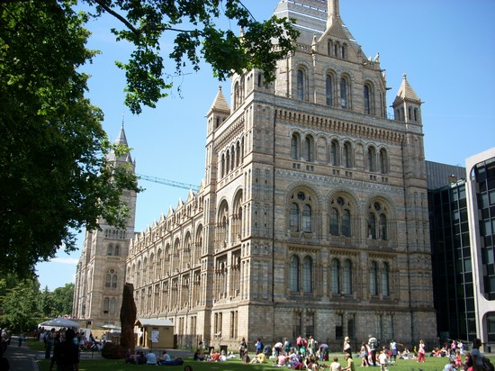 Photo natural histrory museum esterno londra in London - Pictures and Images of London