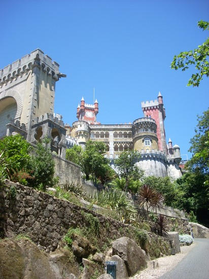 Photo Palacio da Pena in Sintra - Pictures and Images of Sintra