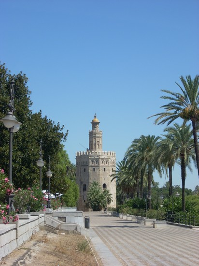 Photo torre del oro siviglia in Seville - Pictures and Images of Seville - 412x550  - Author: Domenica Roberta, photo 47 of 188