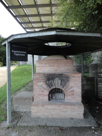 Photo Augusta Raurica - Forno ceramiche in Basel - Pictures and Images of Basel