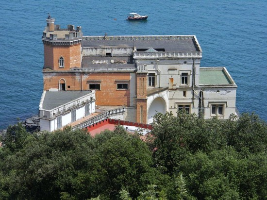 Photo Posillipo. Villa Pierce. in Naples - Pictures and Images of Naples