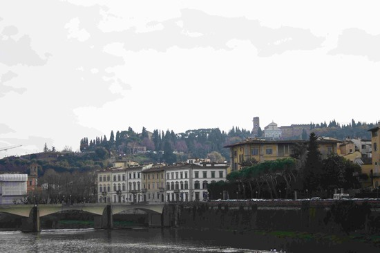 Photo vista da ponte vecchio firenze in Florence - Pictures and Images of Florence