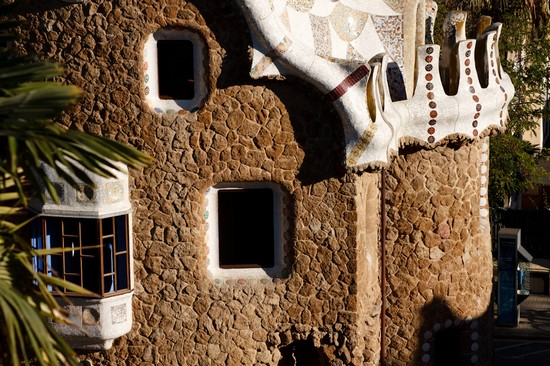 Photo casa park guell barcellona in Barcelona - Pictures and Images of Barcelona - 550x366  - Author: Maria, photo 374 of 672