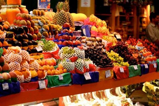 Prodotti in vendita al Mercado Municipal di San Paolo
