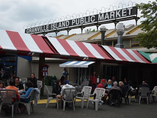 Photo vancouver granville island public market in Vancouver - Pictures and Images of Vancouver - 550x412  - Author: Editorial Staff, photo 1 of 84