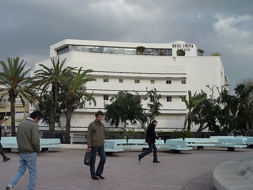 Photo Una delle tappe del Bauhaus City Tour in Tel Aviv - Pictures and Images of Tel Aviv