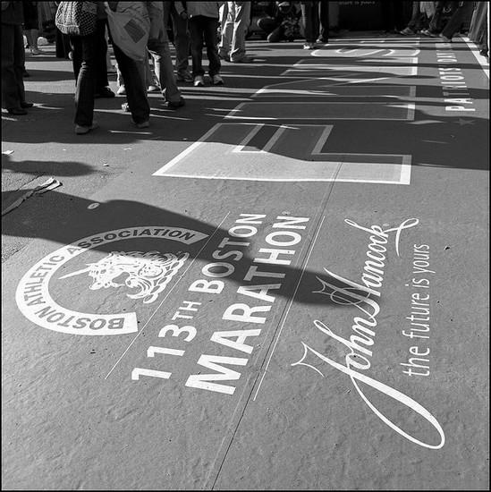 Foto maratona b a Boston