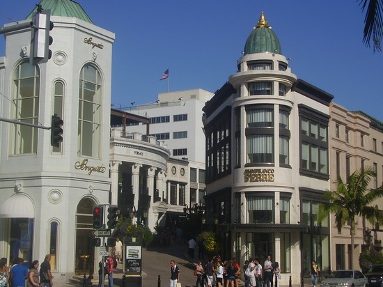 Photo Rodeo Drive a Beverly Hills in Los Angeles - Pictures and Images of Los Angeles
