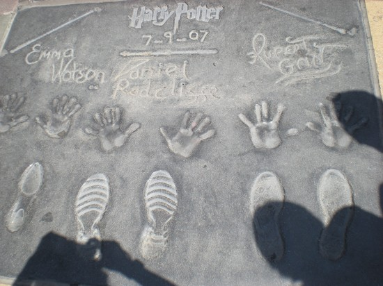 Photo Harry potter in Hollywood - Pictures and Images of Hollywood