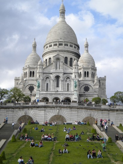 Photo basilica del sacro cuore parigi in Paris - Pictures and Images of Paris - 412x550  - Author: Andrea, photo 8 of 825