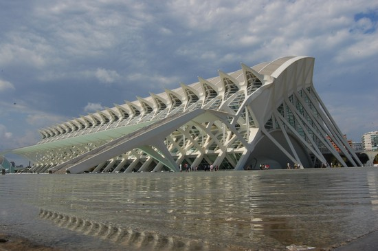 Photo Città delle arti e delle scienze in Valencia - Pictures and Images of Valencia