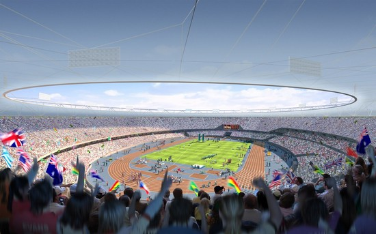 Photo londra l  olympics stadium di londra in London - Pictures and Images of London