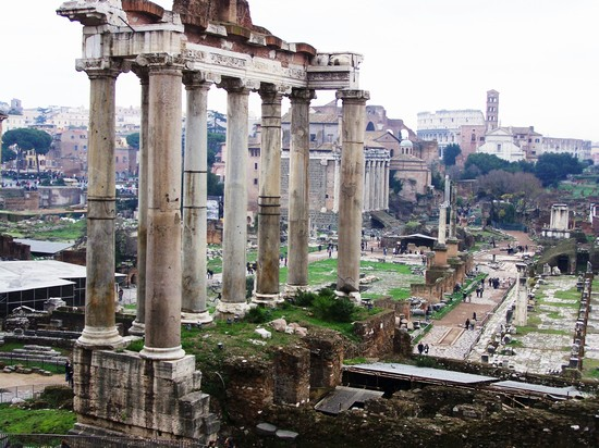 Photo roman forum in Rome - Pictures and Images of Rome