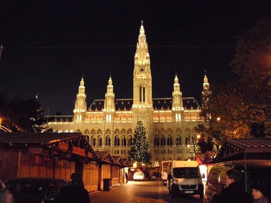 Photo vienna il municipio in Vienna - Pictures and Images of Vienna - 550x412  - Author: Silvia, photo 1 of 277