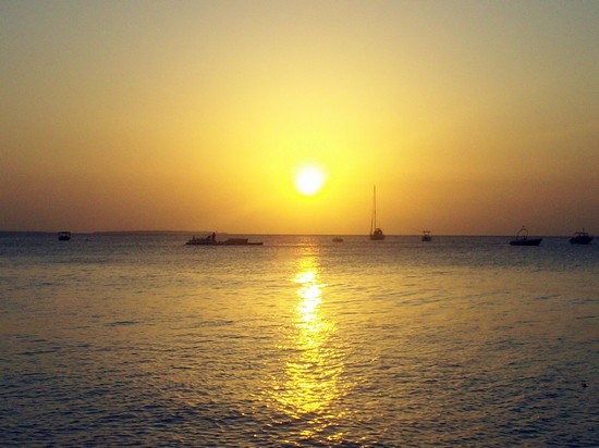 Photo tramonto a Nungwi in Zanzibar - Pictures and Images of Zanzibar