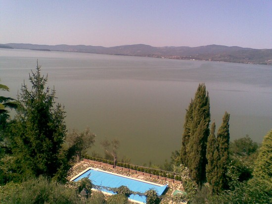 Photo Veduta dal borgo di Monte sul Lago in Perugia - Pictures and Images of Perugia