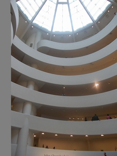 Photo new york guggenheim interno in New York - Pictures and Images of New York 