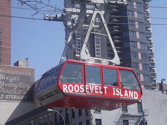 Photo il tram di Nyc in New York - Pictures and Images of New York