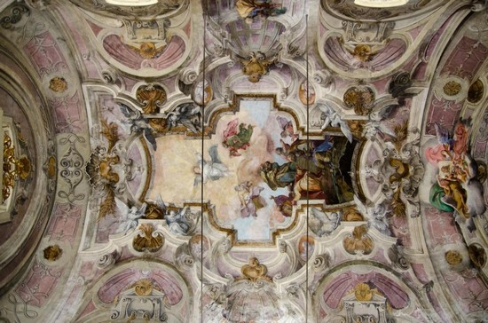 Photo torino affresco chiesa ss sudario in Turin - Pictures and Images of Turin