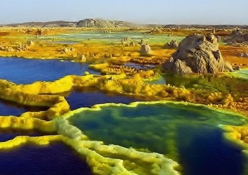 Photo Dallol in Addis ababa - Pictures and Images of Addis ababa - 504x356  - Author: OVERLAND Ethiopia, photo 1 of 33