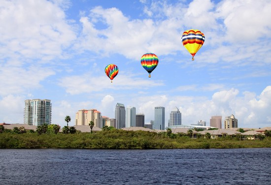 Photo Skyline in Tampa - Pictures and Images of Tampa