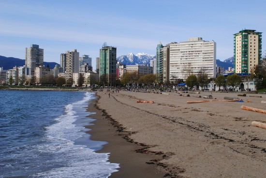 Photo la spiaggia cittadina vancouver in Vancouver - Pictures and Images of Vancouver - 550x367  - Author: Editorial Staff, photo 7 of 145