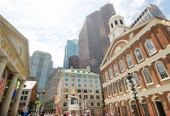Photo faneuil hall boston in Boston - Pictures and Images of Boston - 550x375  - Author: Editorial Staff, photo 14 of 107